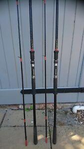 Vintage Rod Hutchinson carp rods x 2 11ft Spirolite Ex.