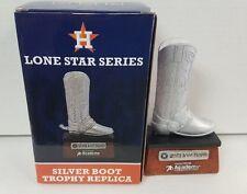 2015 Houston Astros SGA Lone Star Series Silver Boot Replica Trophy NIB