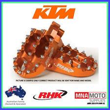 KTM85 SX RHK PURSUIT FOOTPEGS 2004 - 2016 ORANGE