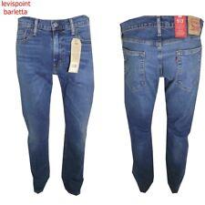 levis 513 jeans uomo Slim Straight elasticizzato vita alta Denim levi's dritto