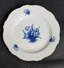 Meißner Porzellan sammelteller Aquatinta Blumen
