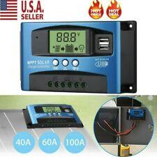 MPPT Solar Panel Regulator Charge Controller 60-100A Auto Focus Tracking 12V-24V