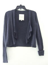 Women's XS Gilly Hicks Sydney Draped Open-Front Short Cardigan