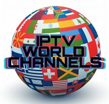 24 Hour World Wide IPTV SUBSCRIPTION ALL Nation Best Server For UK Europe Asian