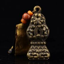 Chinese Antique Tibetan temple old copper hand-made Buddhist seal