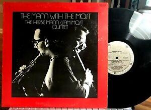 JOE PUMA w/ Herbie Mann, Sam Most LP - Mann With The Most - Bethlehem, 1977  EX
