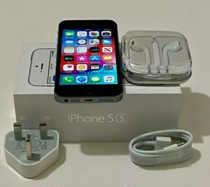 Excellent Condition Boxed Apple iPhone 5S 16GB Space Grey Unlocked 12M Warranty
