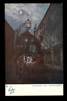 Kent ROCHESTER The Bull Inn Courtyard In Dickens Land Tuck  #1164 vintage PPC