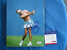 NATALIE GULBIS LPGA STAR HAND SIGNED COLOR 8X10 W/ PSA COA P81777