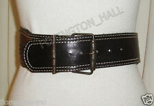 "GORGEOUS SASS & BIDE BLACK LEATHER BELT ""THE RIDING SCHOOL"""