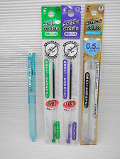 Free Ship ClearBlue Pilot Coleto 0.3mm roller ball pen 2 refill & pencil refill
