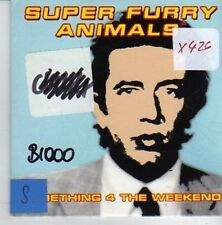 (CO841) Super Furry Animals, Something 4 the Weekend - 1996 DJ CD