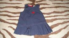 BOUTIQUE JACADI 12M 12 MONTHS 74 CM NAVY BLUE  DRESS