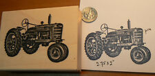Farm tractor rubber stamp WM P14