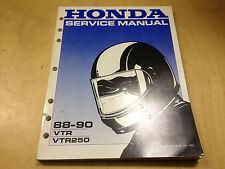Werkstatthandbuch VTR 250 (1988-1990)