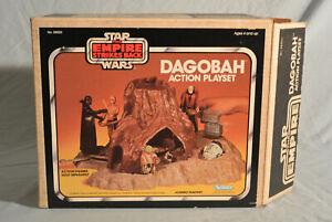 1980 Dagobah Playset STAR WARS Vintage 100% COMPLETE Inserts Box Foam
