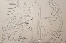 Pablo Picasso lithographie 1962