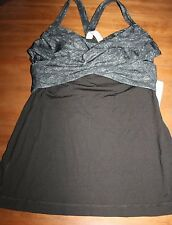 Lululemon Wrap It Up Tank top NWT size 6 small shirt new bra top