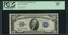 FR1703* $10 STAR NOTE 1934B S/C PCGS 25 VF EXT RARE (ONLY 24 RECORDED) WLM3513