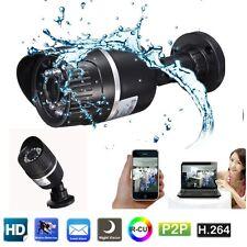 Impermeable WIFI HD 720P IP IR CCTV P2P Cámara De Seguridad Visión Nocturna