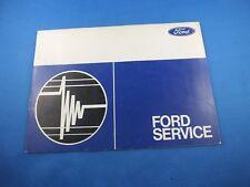 ORIGINAL Ford Service Taunus KNUDSEN Wartungsbuch 1970 SERVICEBUCH Wartungsheft