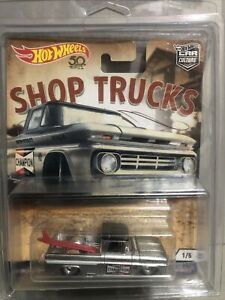 Hot Wheels Car Culture Shop Trucks Custom 62 Chevy VHTF shipped PROTECTOR