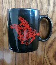 2001 Phillip Morris Inc Black Speckled Marlboro Miles Thank You Cups Mugs NOS
