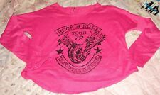 FIREHOUSE GIRLS SIZE X-LARGE (12/14) ROCK'N'ROLL TOUR TOP NEW WITH TAGS