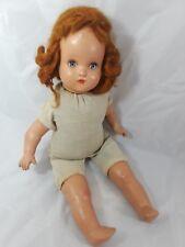 "Horsman Vintage Composition Doll Circa 1930 16"""