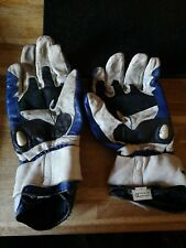 Spidi Carbo Motorcycle Motorbike Race Gloves CE Armour Abrasion Lining Great Med