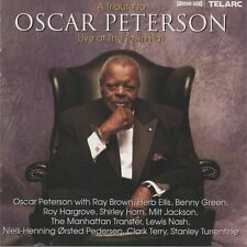 A TRIBUTE TO OSCAR PETERSON - Live at The Town Hall - CD album