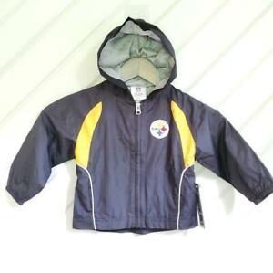 NFL Pittsburgh Steelers Hooded Jacket Windbreaker