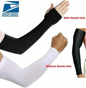 3 Pairs Cooling Arm Sleeves Cover UV Sun Protection Outdoor Sports Unisex