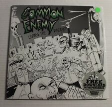 COMMON ENEMY Living The Dream LP Horror Business Rec OORO16 US 2009 M SEALED 00E