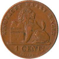 COIN / BELGIUM / 1 CENTIME 1912  #WT5244
