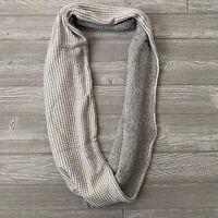 NWT New Calvin Klein infinity scarf gray cozy soft womens OS one size