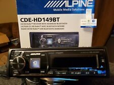 Alpine Cde-Hd149Bt Bluetooth Cd Receiver