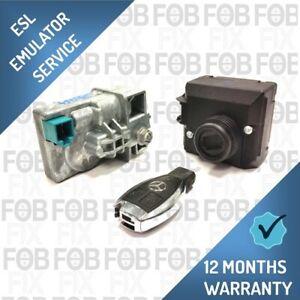 MERCEDES W204 W207 W212 ELECTRONIC STEERING LOCK ESL DELETE EMULATOR PROGRAMMING