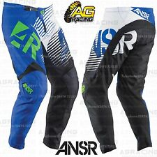 Answer 2015 Youth Syncron Blue White Race Pants 18 inch Motocross Enduro Quad