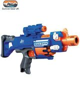 KIDS DART TOY GUN BLAZE STORM ASSAULT BLASTER INCLUDES 20 DARTS ARMY ROLE PLAY