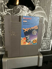 XEVIOUS NES NINTENDO Video game bandai like galaga 1988 shooter action GOOD NICE