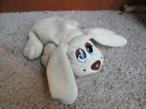 6.5 Inch Plush Pound Puppy Cream Brown Nose