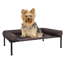 Puppy Elevated Dog Pet Cot Portable Raised Hammock Sleep Bed Cozy Lounger Mesh