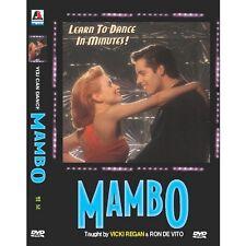 You can dance : MAMBO (DVD,All,New) Vicki Regan, Ron De Vito