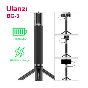 Ulanzi BG-3 10000mAh Power Hand Grip Stick For GoPro 9 7 8 Smartphone SLR DJI