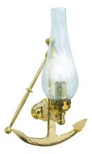 Lampe perfekt für die maritime Dekoration Steuerstand Holz /& Messing