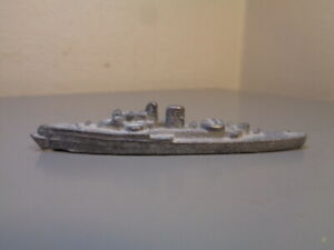 WIKING GERMANY VINTAGE 1930'S BATTLESHIP 1:1250 VERY RARE ITEM GOOD CONDITION