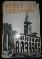 Syria and Lebanon by Nicola A. Ziadeh 1957 Hardback American University Beirut