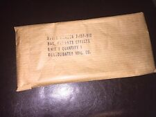 WW2 US Army PATIENT's EFFECTS BAG,NEW in original packing MILITARY 1938 - 1963