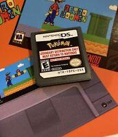 Pokemon Legendary Event Distribution Cartridge Nintendo DS NTR NFR Safe Ship